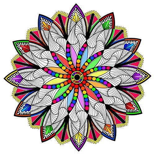(Stuff2Color Clockwork - Giant Mandala Coloring Poster - 22