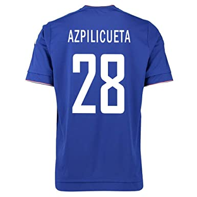 low priced 31715 91d22 Amazon.com: Adidas Azpilicueta #28 Chelsea Home Soccer ...