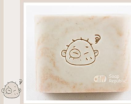 Amazon SoapRepublic Babys Face Acrylic Soap Stamp Cookie