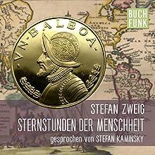 Sternstunden der Menschheit: 14 historische Miniaturen Hörbuch von Stefan Zweig Gesprochen von: Stefan Kaminsky
