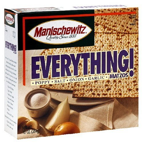 Manis Matzo Everything - 10 Oz Pack
