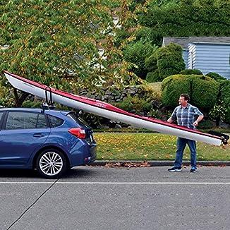 Rodillo carga kayak con ventosas 3