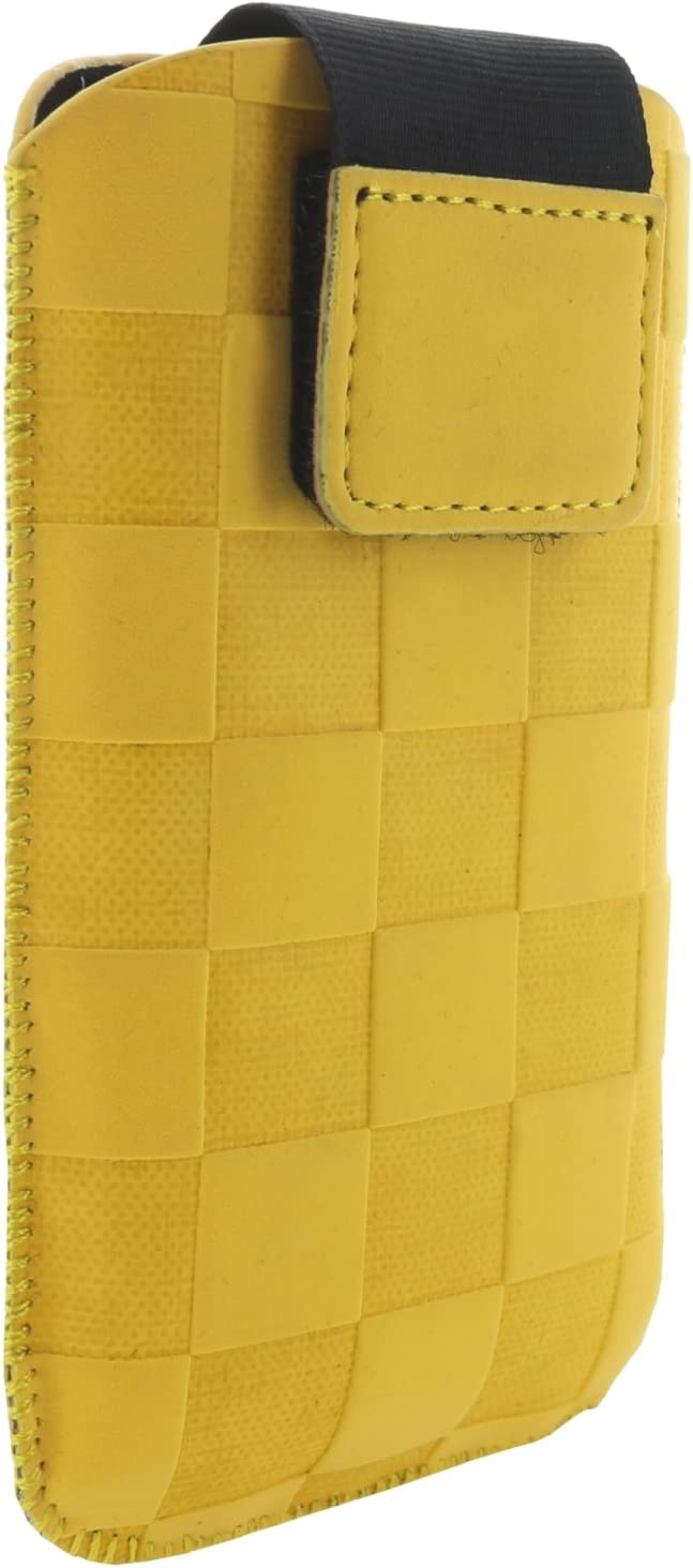 XiRRiX Mobile Phone Case with Pull-Out Tab Size S Suitable for Doro PhoneEasy 609 612 6030 Select Swisstone BBM 620 Primo 406 413