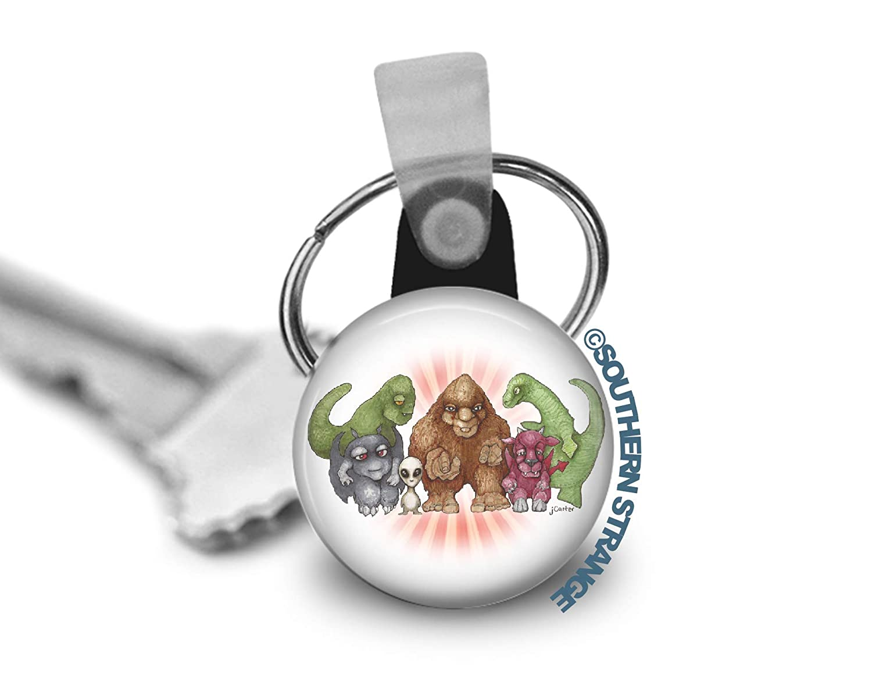 Cute Cryptids Keychain