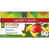 Nature's Heart Té Verde con Sabor Mango - 20 Sobres