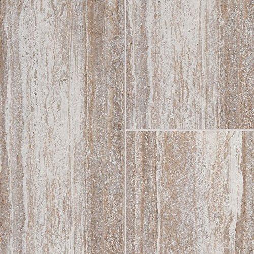 Mannington Hardware AR301 Adura Rectangles Luxury Cascade Vinyl Tile Flooring, Harbor Beige by Mannington