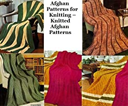 Afghans patrons pour tricot - tricot patrons afghans (French Edition) by [Unknown]