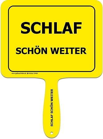 Arti Coo Schlaf Schön más - Divertido Cartel con Mango de ...