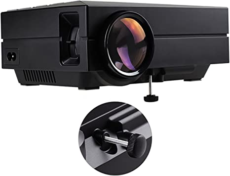 Tera GM60 Mini Proyector portátil multimedia (720p HD, mando a ...