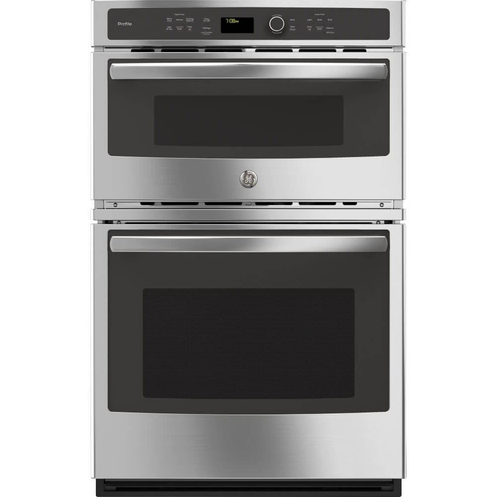 "GE PK7800SKSS Profile 27"" Stainless Steel Electric Combination Wall Oven - Convection"
