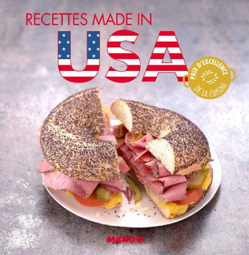 Recettes made in USA (La cerise sur le gâteau) (French Edition) -