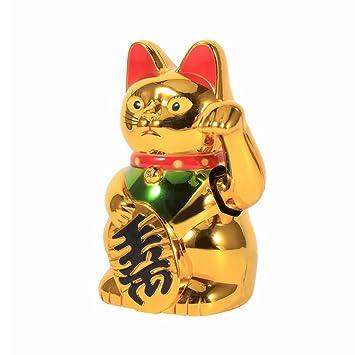 Neilyn Suerte Chino agitando Gato agitando Oro Mano Gato Feng-Shui Lucky Home Decor Bienvenido agitando Gato: Amazon.es: Hogar