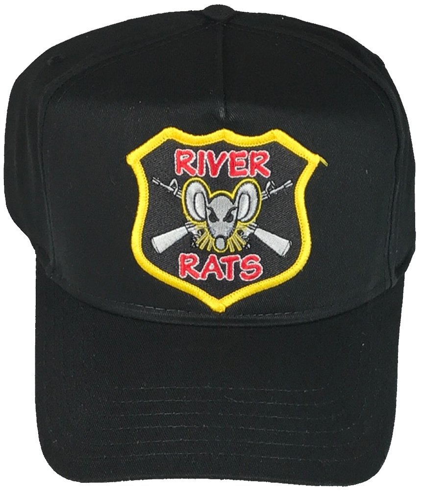 UNITED STATES NAVY RIVER RATS VIETNAM HAT - BLACK - Veteran Owned Business