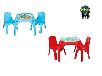 Enfants Sige De Groupe Avec Table Jeu Chaise Et 2 Chaises Pour