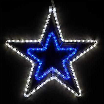 wintergreen lighting led star lights christmas outdoor christmas led star christmas outdoor decorations led rope light