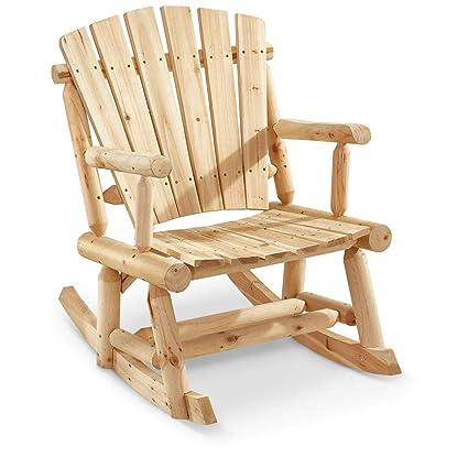 Castlecreek Oversized Adirondack Rocking Chair