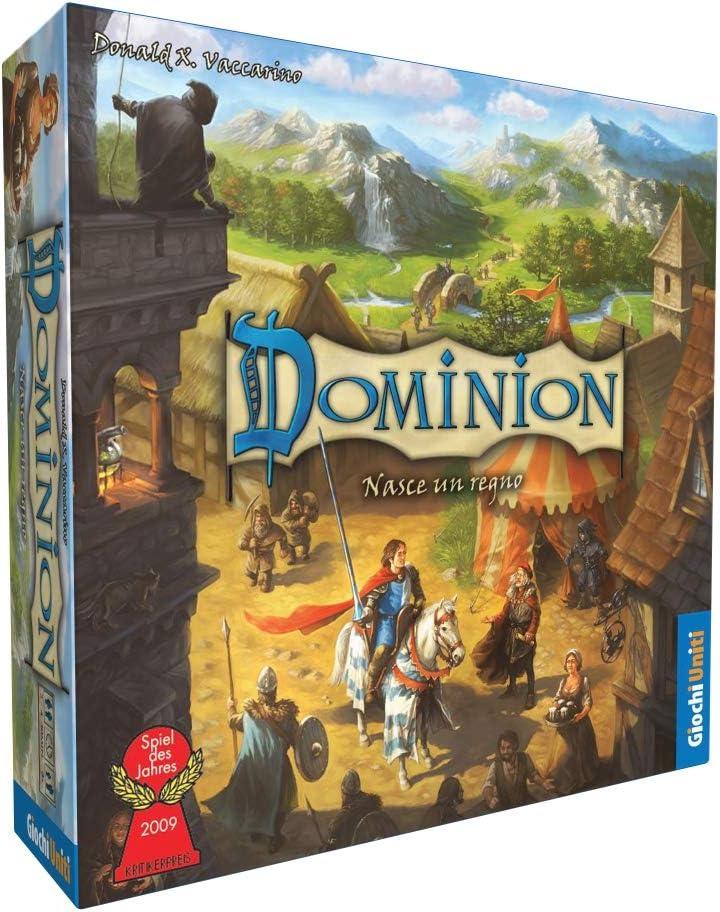 Giochi Uniti Dominion Nasce un Regno - Juego de Mesa (versión en ...