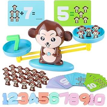 Amazon.com: CENOVE Juguetes educativos Monkey Balance Juego ...