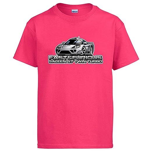 Diver Camisetas Camiseta Fast & Furious Saleen S7 Twin Turbo: Amazon.es: Ropa y accesorios