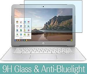 """Synvy Anti Blue Light Tempered Glass Screen Protector for HP Chromebook 14-ak000 si / ak013dx / ak050nr / ak040nr / ak060nr / ak031nr / ak010nr / ak041dx / ak040wm / ak045wm 14"""" Visible Area"""
