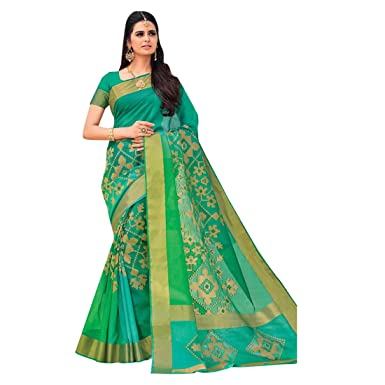 8ba1358361 Amazon.com: Bollywood Wedding Zari Saree Indian Silk Sari Blouse Formal  Designer Muslim Women Black Friday 7282: Clothing