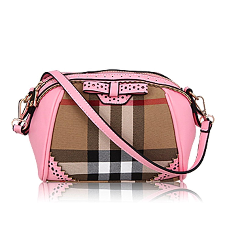 FAIRYSAN Mini Shoulder Bag Leather Crossbody Bag For Girls With Bowknot Satchels