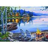 Buffalo Games Darrell Bush Lake Reflection, 1000-Piece Jigsaw Puzzle