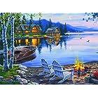 Buffalo Games – Darrell Bush – Lake Reflection – Piece Jigsaw Puzzle 1000
