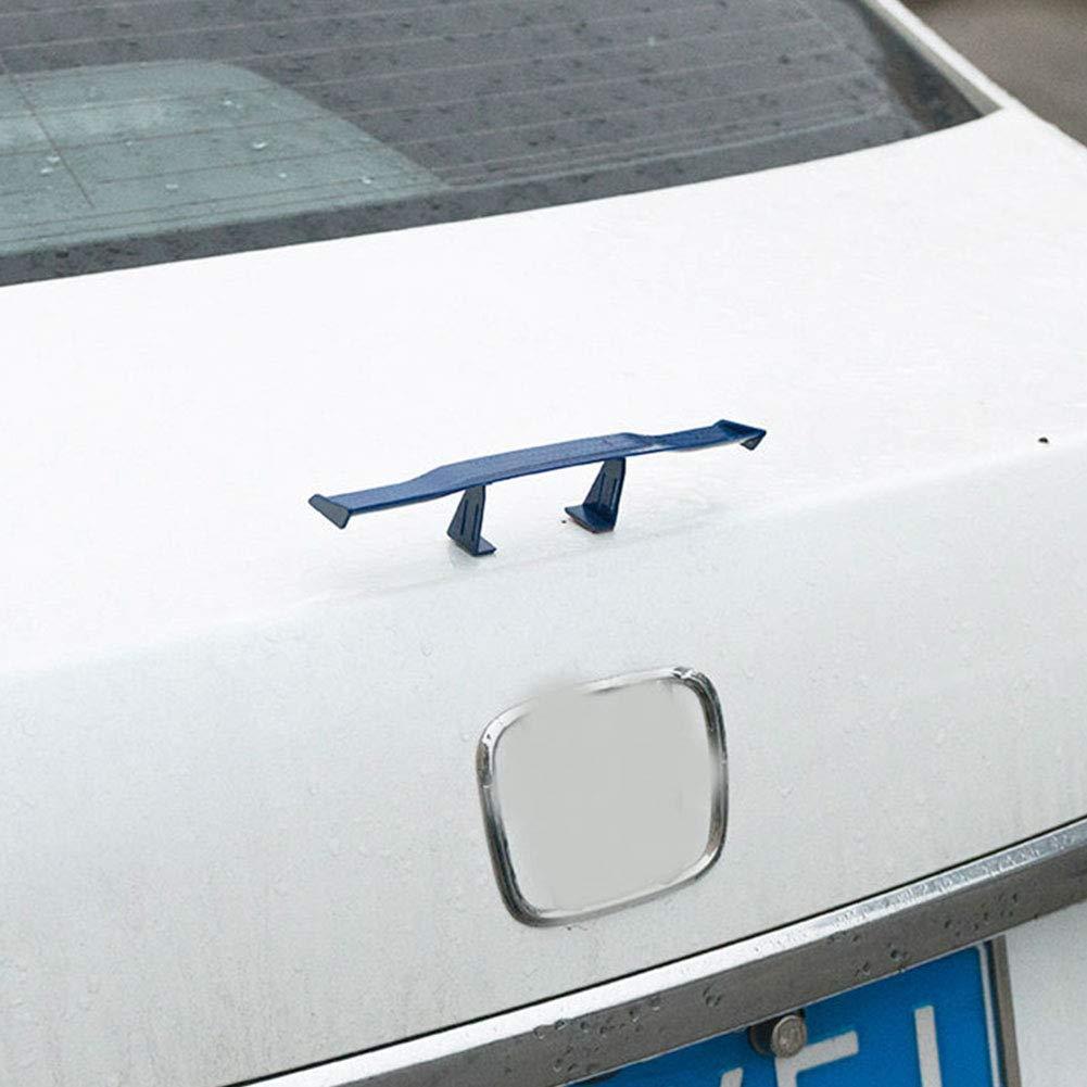 Mini Spoiler Aletta Aletta Aletta Piccola Modello Decorazione Coda Blu Xuba Spoiler Posteriore per Auto
