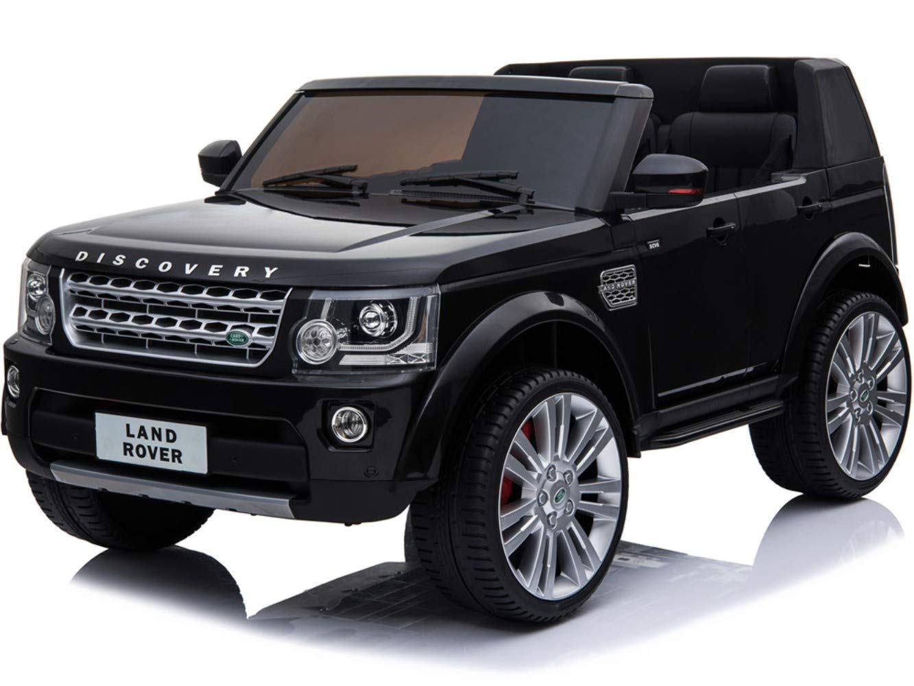 Land Rover Truck >> Amazon Com Mini Moto Land Rover Discovery 12v Black 2 4ghz