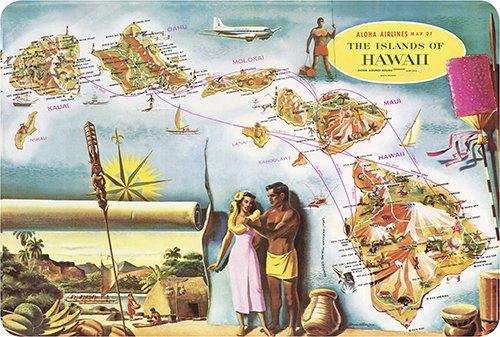 Postcard Vintage Airline - 9