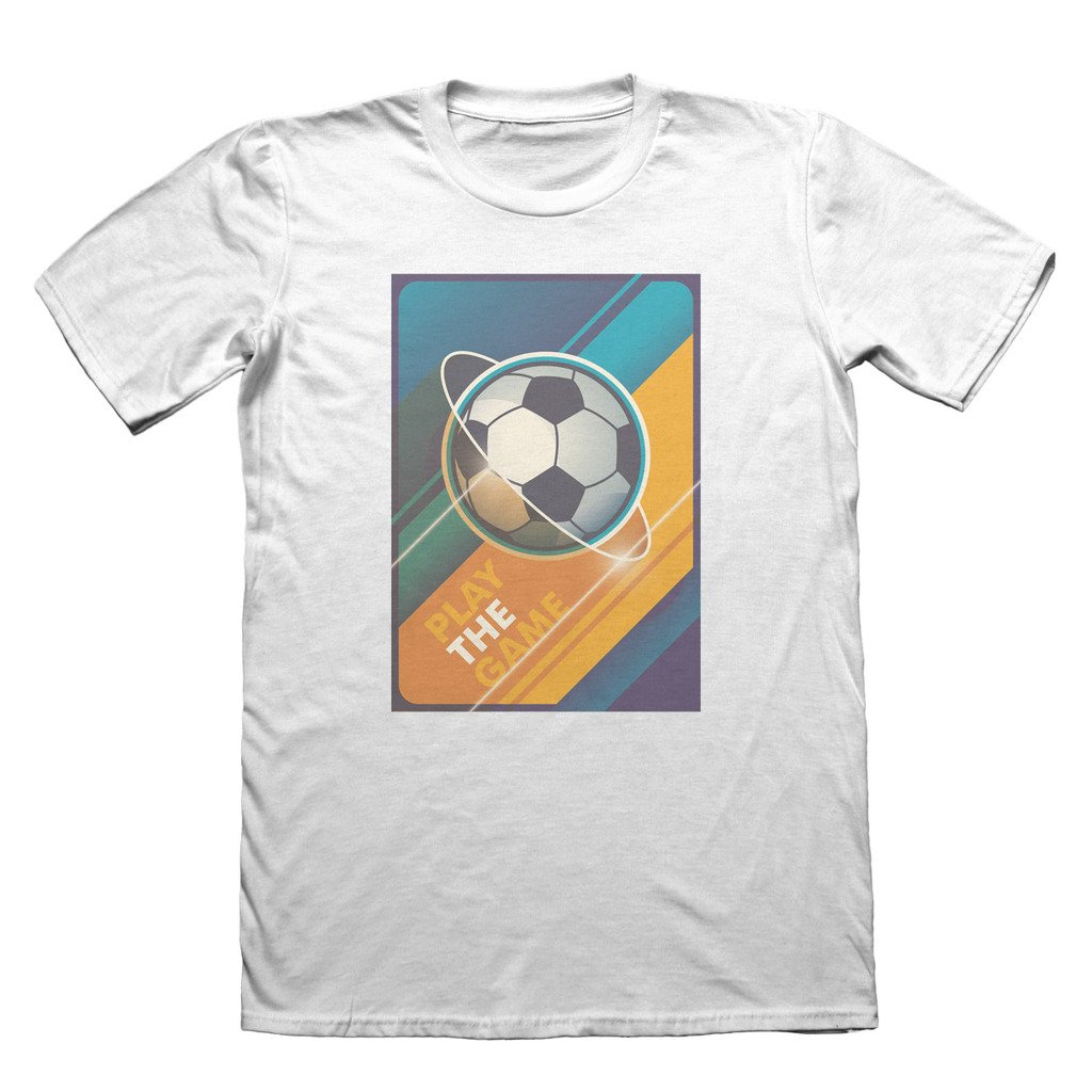 f71a7a031 Soccer Football T-Shirt - Men's Fathers Day Christmas Gift #7321 XX-Large |  Amazon.com