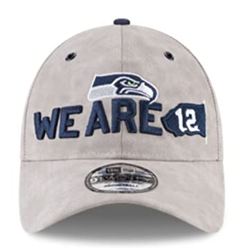 3e2b10bacb25d0 Image Unavailable. Image not available for. Color: New Era NFL Seattle  Seahawks Baseball Hat Cap Spotlight 920 9Twenty Faux Suede Taupe
