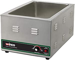 Winco FW-S600 Electric Food Cooker/Warmer, 1500-watt,Stainless Steel,Medium