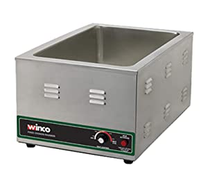 Winco FW-S600 Electric Food Cooker/Warmer, 1500-watt