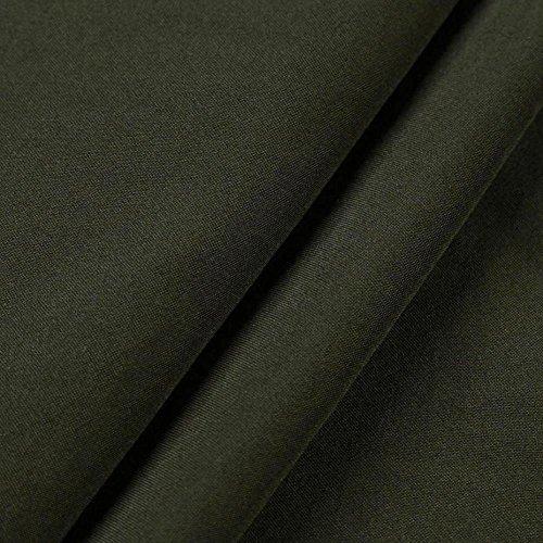 Denim Blouses Shirt T Col Mode Chemises Longues Verte Tops Contrast Ansenesna Manches Arme Minces Femmes 8xFwgn8pqX