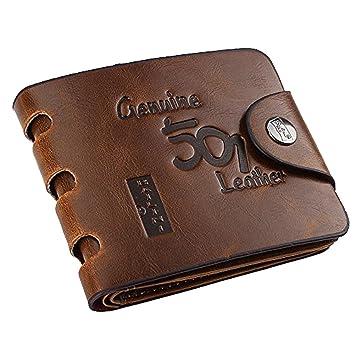 BAILINI hommes cuir véritable longue portefeuille Genuine Leather 501 braun e40ffc04d0c