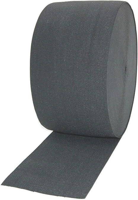 1 Metre elástico negro 6 cm de ancho, 150 mm de ancho tejido ...