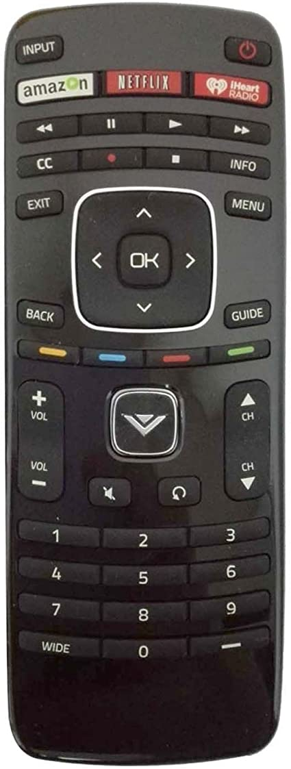 New XRT112 Remote Control fit for Vizio Smart Internet LED TV with Netflix//iHeart Radio APP Keys