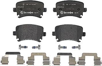 Brembo P 85 095 Bremsbelagsatz Scheibenbremse 4 Teilig Auto