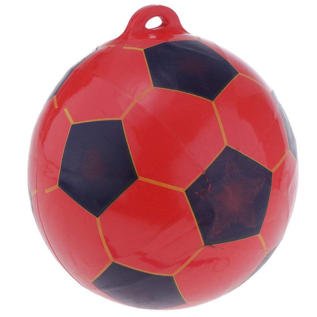 Red MagiDeal 8.5 Inflatable Soccer Training Ball Kids Soccer Kick// Throw Trainer