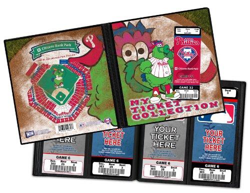 (Phanatic Philadelphia Phillies Mascot Ticket Album)