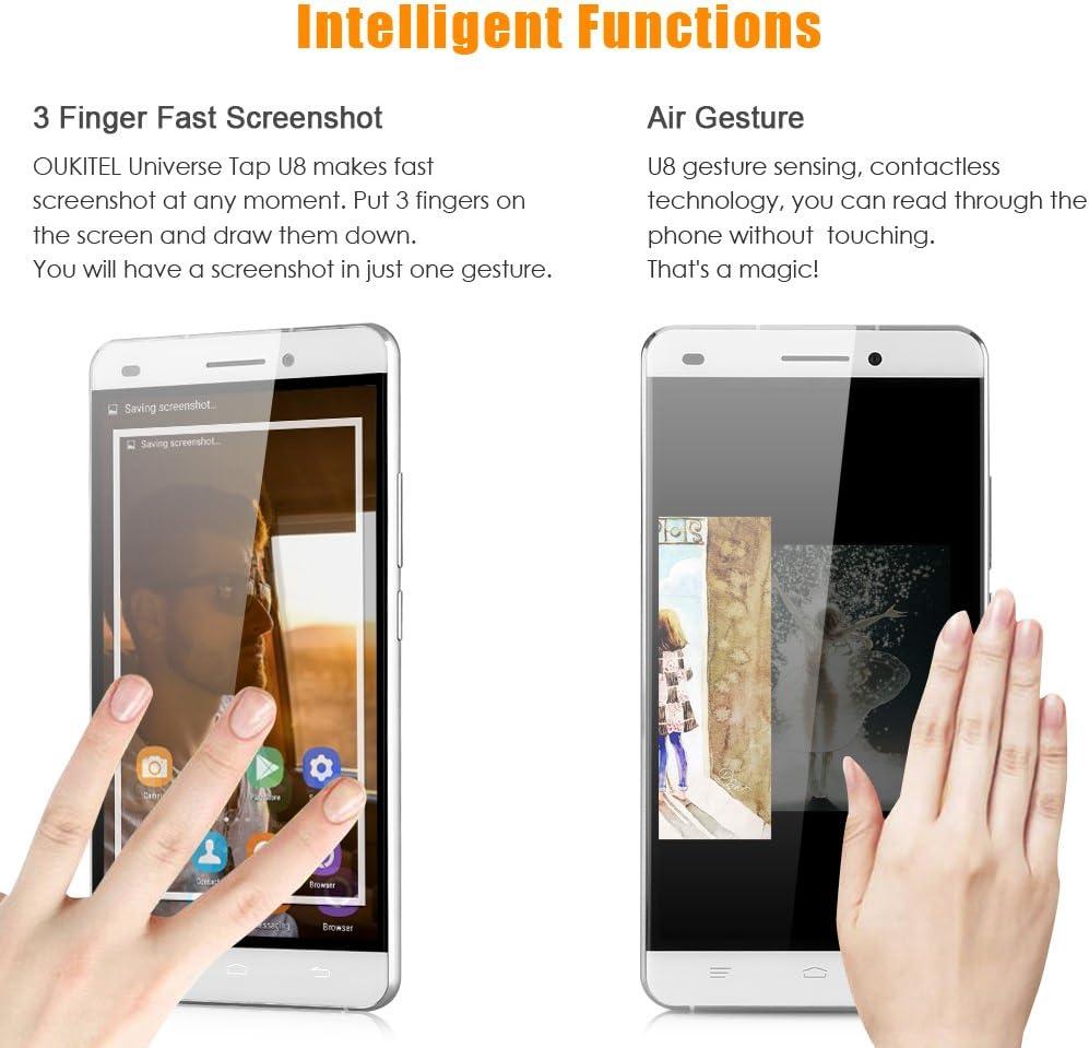 OUKITEL U8 Universe Tap Smartphone 4G Móvil Libre (5.5