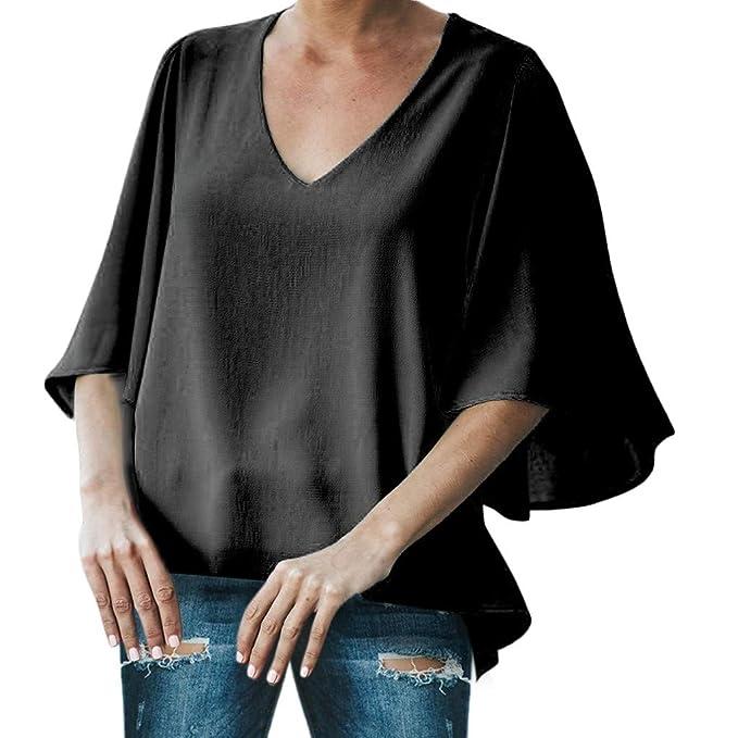 4bd5b6832506 Anmain Primavera Estate Elegante Camicie Blusa Donna
