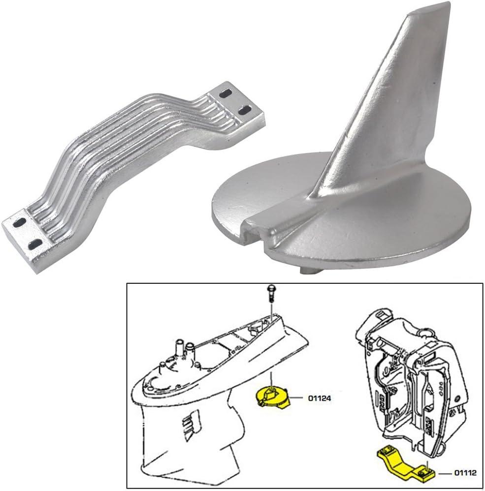 Tecnoseal Anode Kit - Yamaha 200-250HP - Zinc (52048)