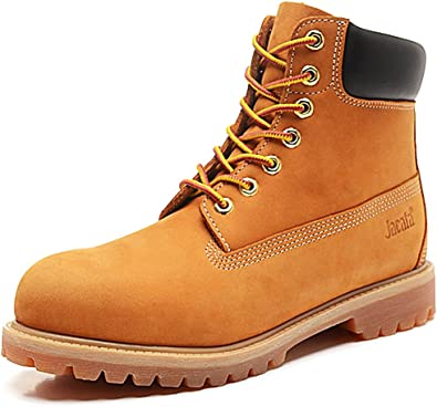 Brown Black Wheat Water Resistant Waterproof 6-Inch Leather Work Boot
