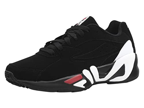 Fila Men's Mindblower Sneakers Shoes Black/White/Fila Red ...