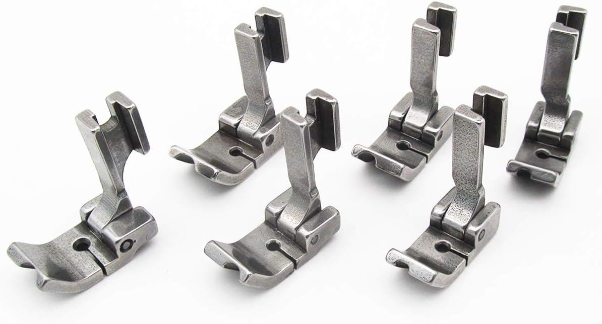 CKPSMS P69LH+P69RH - Juego de patas de caña alta con bisagras para máquinas de coser industriales de una sola aguja: Amazon.es: Juguetes y juegos