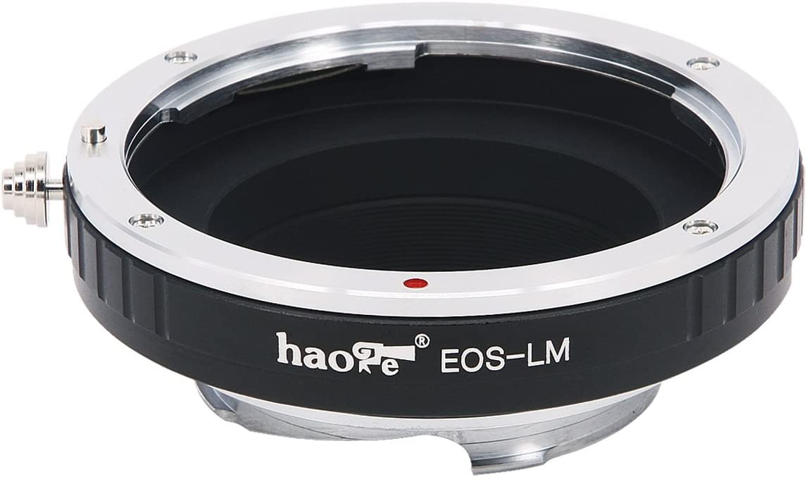 M10 M-A M Monochrom M5 M7 MP M3 M262 M6 Haoge Lens Mount Adapter for Canon EOS EF Lens to Leica M LM Mount Camera Such as M240 M M9 M-P M1 M4 M9-P M8 M240P M-E M2