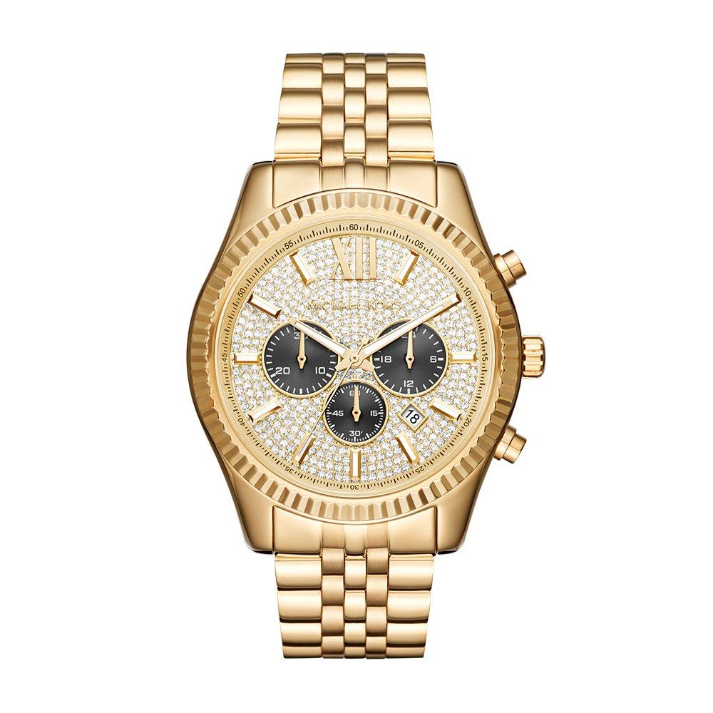 Michael Kors Men's Lexington Gold-Tone Watch MK8494 by Michael Kors (Image #1)